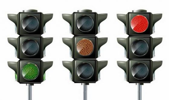 红黄绿红绿灯交通信号灯免抠png图片矢量图素材