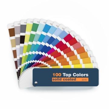 逼真的标准色卡调色板png图片免抠eps矢量素材