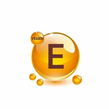 维生素E油滴维他命E软胶囊保健用品营养元素png图片免抠矢量素材