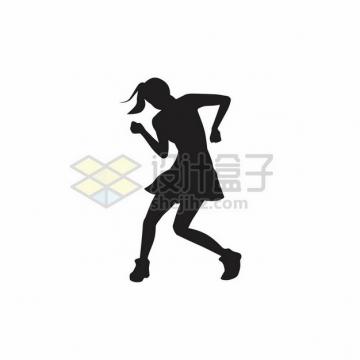 女团跳舞的女孩摆pose剪影141549png图片素材