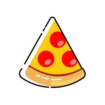 MBE风格披萨西餐美食图片免抠素材