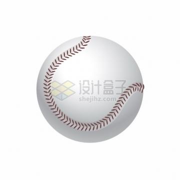 逼真的3D立体棒球体育球类png图片素材
