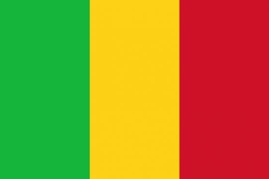 标准版马里国旗图片素材