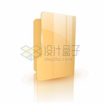 电脑文件夹3D立体图标402857png图片素材