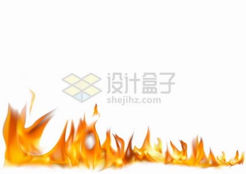 熊熊烈火燃烧的火焰png图片免抠矢量素材