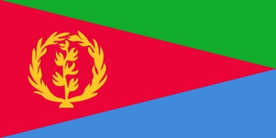 标准版厄立特里亚国旗图片素材