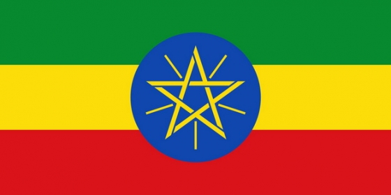 标准版埃塞俄比亚国旗图片素材