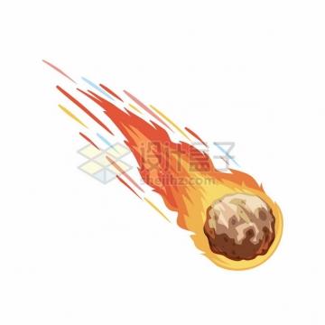 卡通陨石流星621079png图片素材