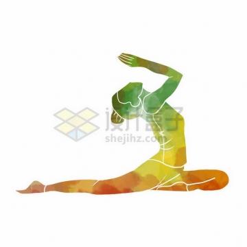 艺术体操彩色涂鸦352217png免抠图片素材