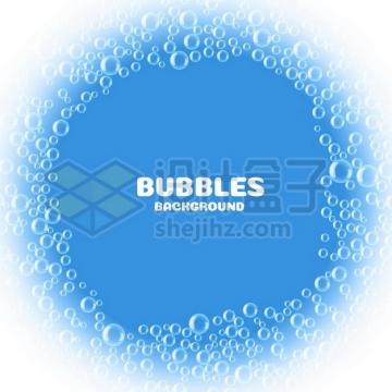 气泡水泡组成的圆圈文本框信息框标题框209240png矢量图片素材