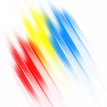 绚丽的红黄蓝三色涂鸦光线装饰440334png图片素材