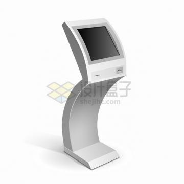 自助服务终端机触摸屏一体机自动取票机476593png图片素材