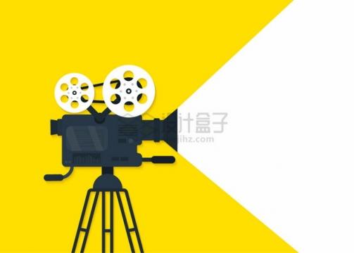 电影放映机电影院设备侧视图png图片素材