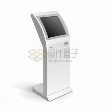 自助服务终端机触摸屏一体机自动取票机712065png图片素材