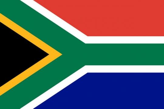 标准版南非国旗图片素材