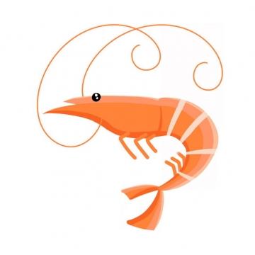 一只大虾河虾png图片免抠素材654397