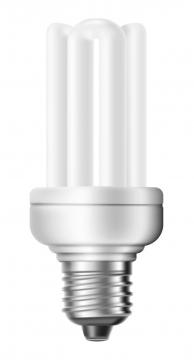 常见的家用荧光灯日光灯管图片免抠矢量素材