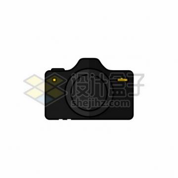 黑色的照相机扁平插画807546png图片素材