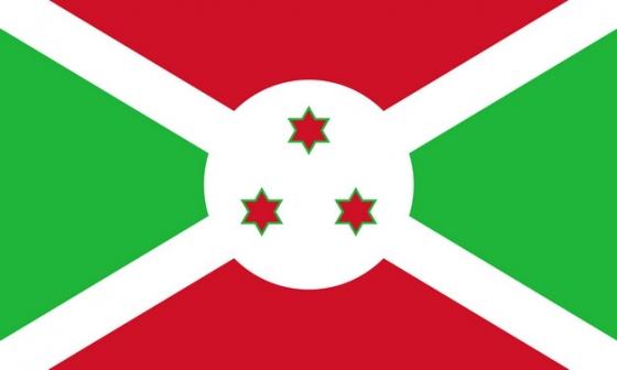 标准版布隆迪国旗图片素材