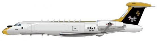 美军P-8反潜巡逻机侧面图976926png图片免抠素材