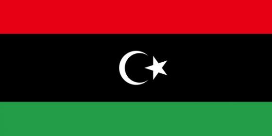 标准版利比亚国旗图片素材
