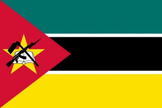 标准版莫桑比克国旗图片素材