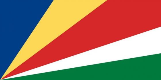 标准版塞舌尔国旗图片素材