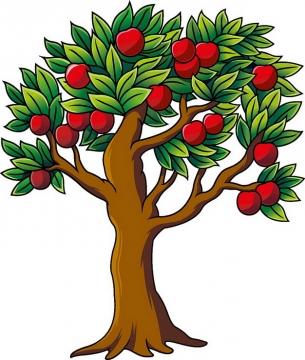卡通苹果树969650png图片素材