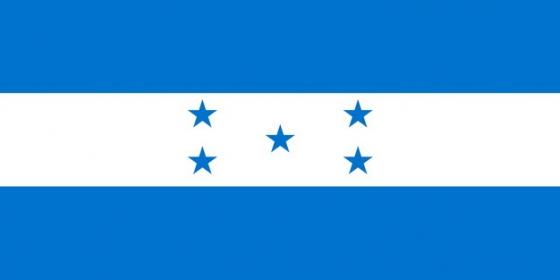 标准版洪都拉斯国旗图片素材