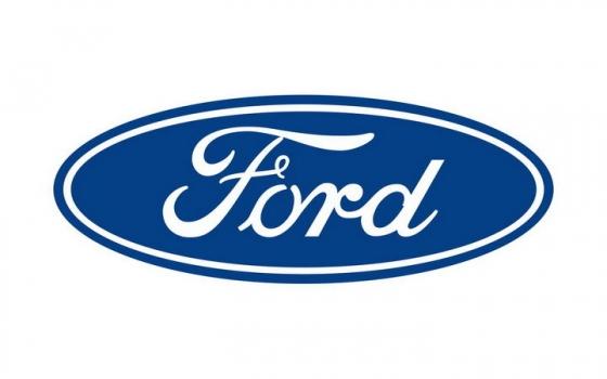 扁平化风格福特汽车标志大全及名字图片免抠素材