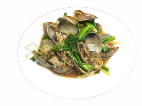 葱香蛤蜊139426png免抠图片素材