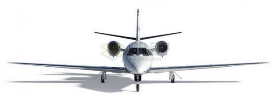 停机坪上带影子的商务客机834183png免抠图片素材