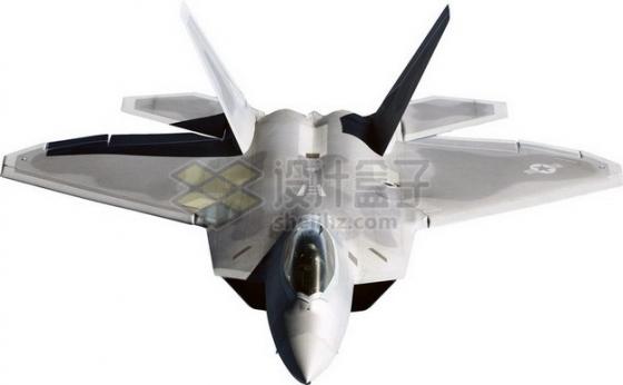 美国空军F22猛禽战斗机标准照png免抠图片素材