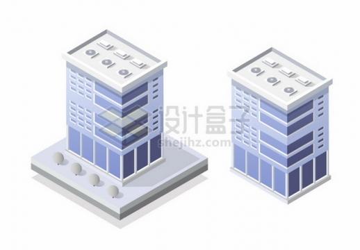 2款3D高楼大厦550144png矢量图片素材