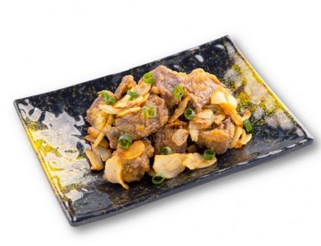 安格斯牛肉粒日式料理png图片素材