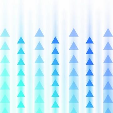 一连串的蓝色紫色三角形组成的方向箭头969165png图片素材