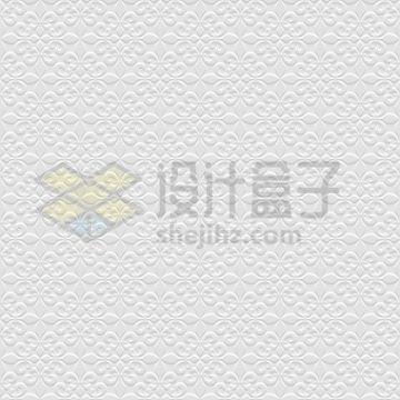 3D复杂花朵树叶图案无缝花纹壁纸背景图png图片免抠矢量素材