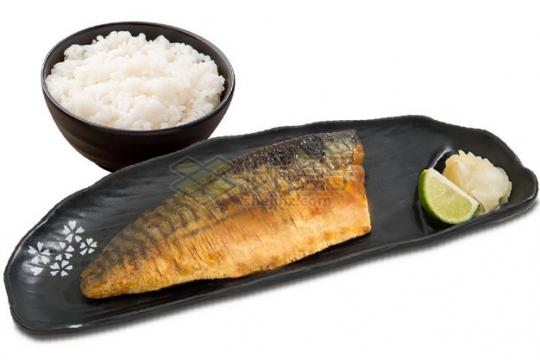 和风酱烧鲭鱼日式料理png图片素材