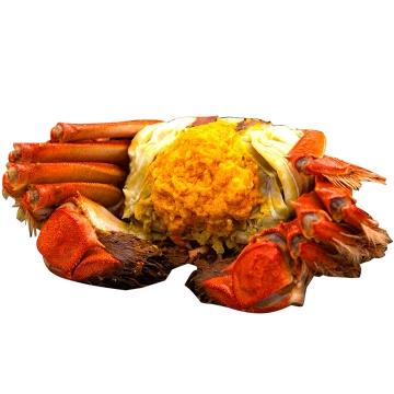 美味美食大闸蟹蟹膏河鲜图片免抠素材