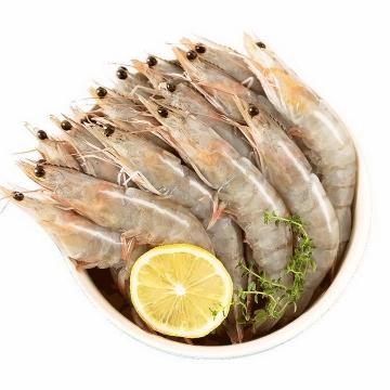 一堆洗干净的新鲜河虾对虾美食河鲜图片免抠素材