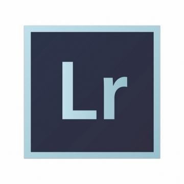 adobe设计软件的LR图标logo方形标志250329图片免抠素材