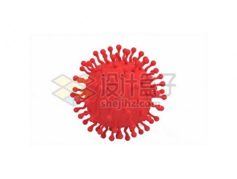 红色的新型冠状病毒594362png图片素材