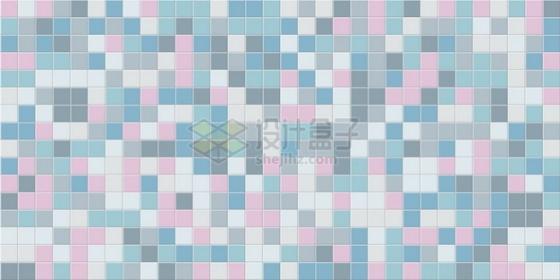 彩色方块方格瓷砖贴图604614png矢量图片素材