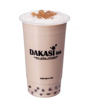 一杯珍珠奶茶美味饮料图片免抠素材