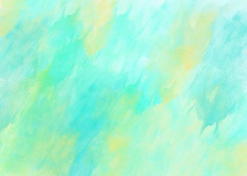 蓝色绿色涂鸦水墨风格横版背景图372583