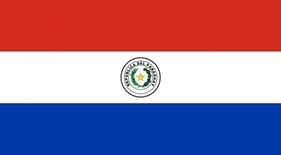 标准版巴拉圭国旗图片素材