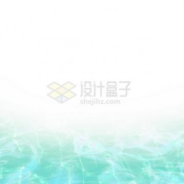 夏天的热带蓝色水面效果4836492png图片素材