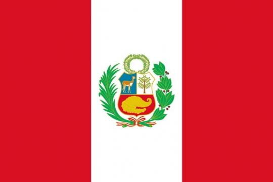标准版秘鲁国旗图片素材