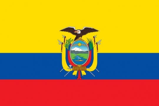 标准版厄瓜多尔国旗图片素材