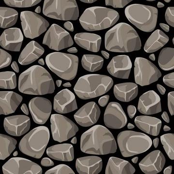 各种棕色的石头墙图片免扣素材